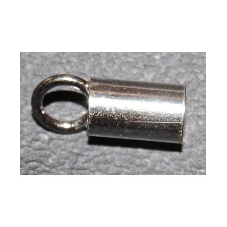Terminal capuchón para cordón 2,5 mm.