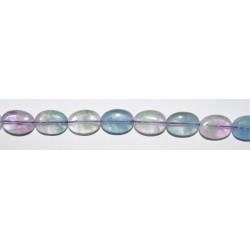 Fluorita oval 10*14 mm.