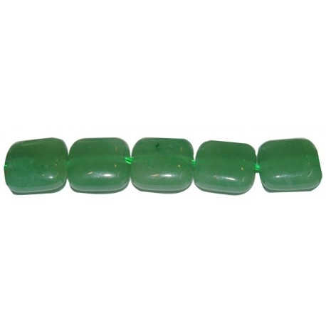 Avent. verde cuadrado cojín 12 mm.