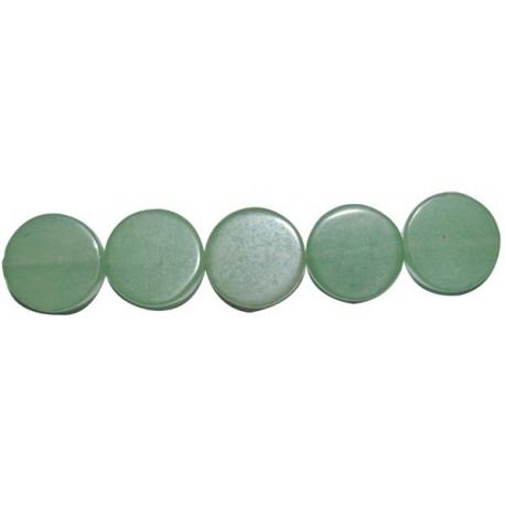 Avent. verde disco plano 12 mm.