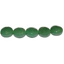 Avent. verde disco facetado 12 mm.