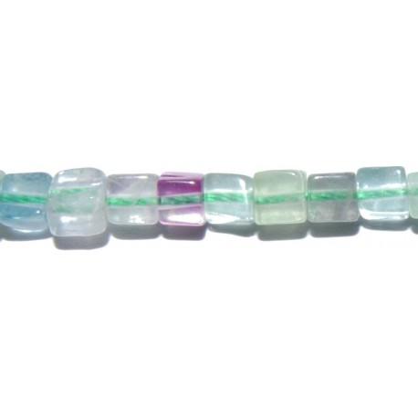 Fluorita cubo 4 mm.