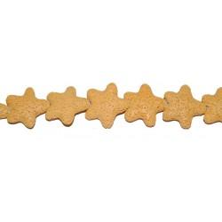 Lava Amarilla estrella 25 mm.