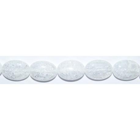 Cristal de Roca oval 18*24 mm.