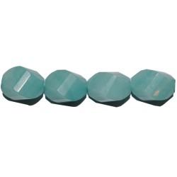 "Amazonita oval ""S"" 10*15 mm"