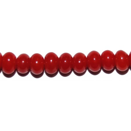 Coral Bambú rondel 4 mm.