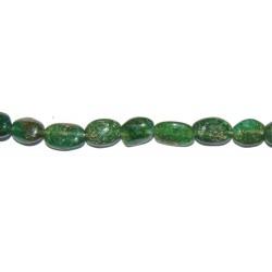 Aventurina Verde oval 8*10 mm.