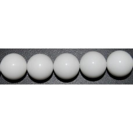Onix blanco bola 12 mm.