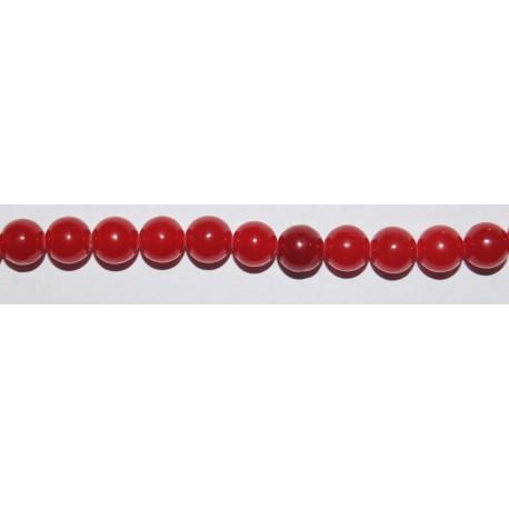 Jade Rojo bola 8 mm.