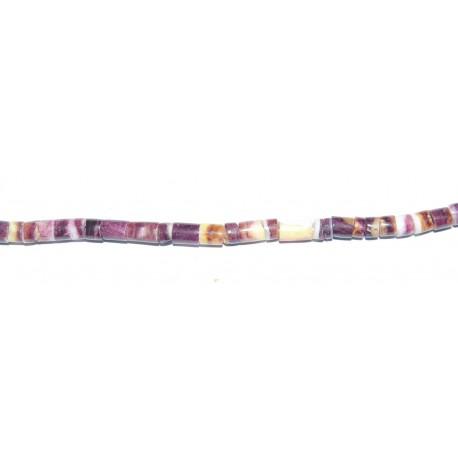 Spondylus Púrpura 4 mm
