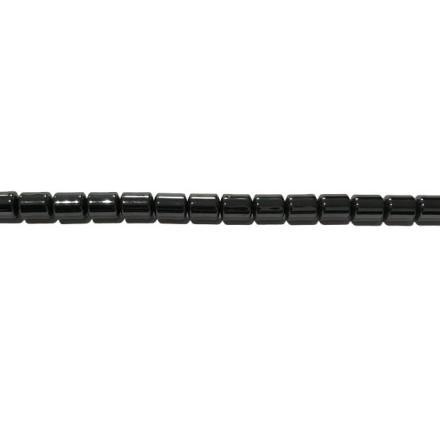 Hematite tubo 3*4 mm.