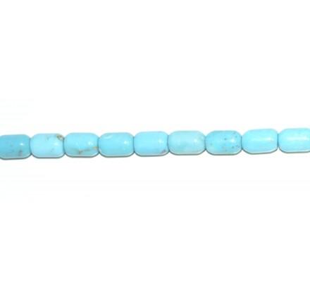 Turquesa Natural tubo 3*5 mm.