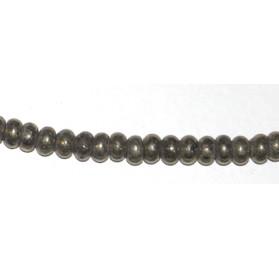 Pirita Rondel 6*4 mm.