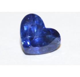 Zafiro Corazón 7*7 mm ( Alta Calidad)