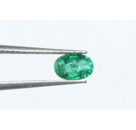 Esmeralda Oval Facetado 6*4 mm ( Alta Calidad)
