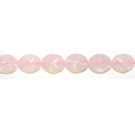 """Cuarzo Rosa oval """"S"""" 20*15 mm."""
