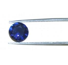 Zafiro talla Redonda 7,5 mm.