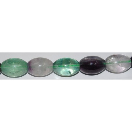 Fluorita oliva 13*18 mm.