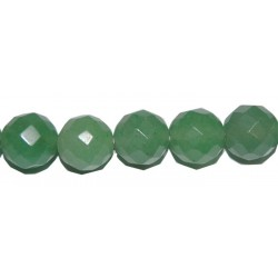 Avent. verde bola facetada 4 mm.