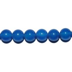 Ágata azul bola 8 mm.
