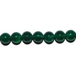 Ágata verde bola 3 mm.