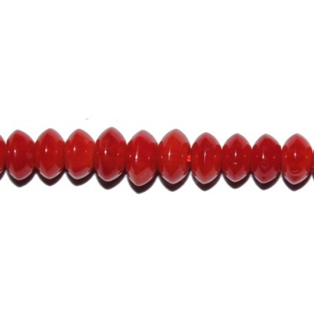 Coral Bambú abacus 5 mm.