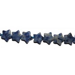 Sodalita estrella 8 mm.