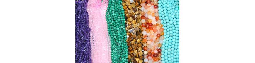 Piedras Semipreciosas (Tiras 40 cm)